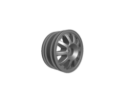 rc car drift wheel brilliant  width 24mm   offset plus 6mm 3d print model