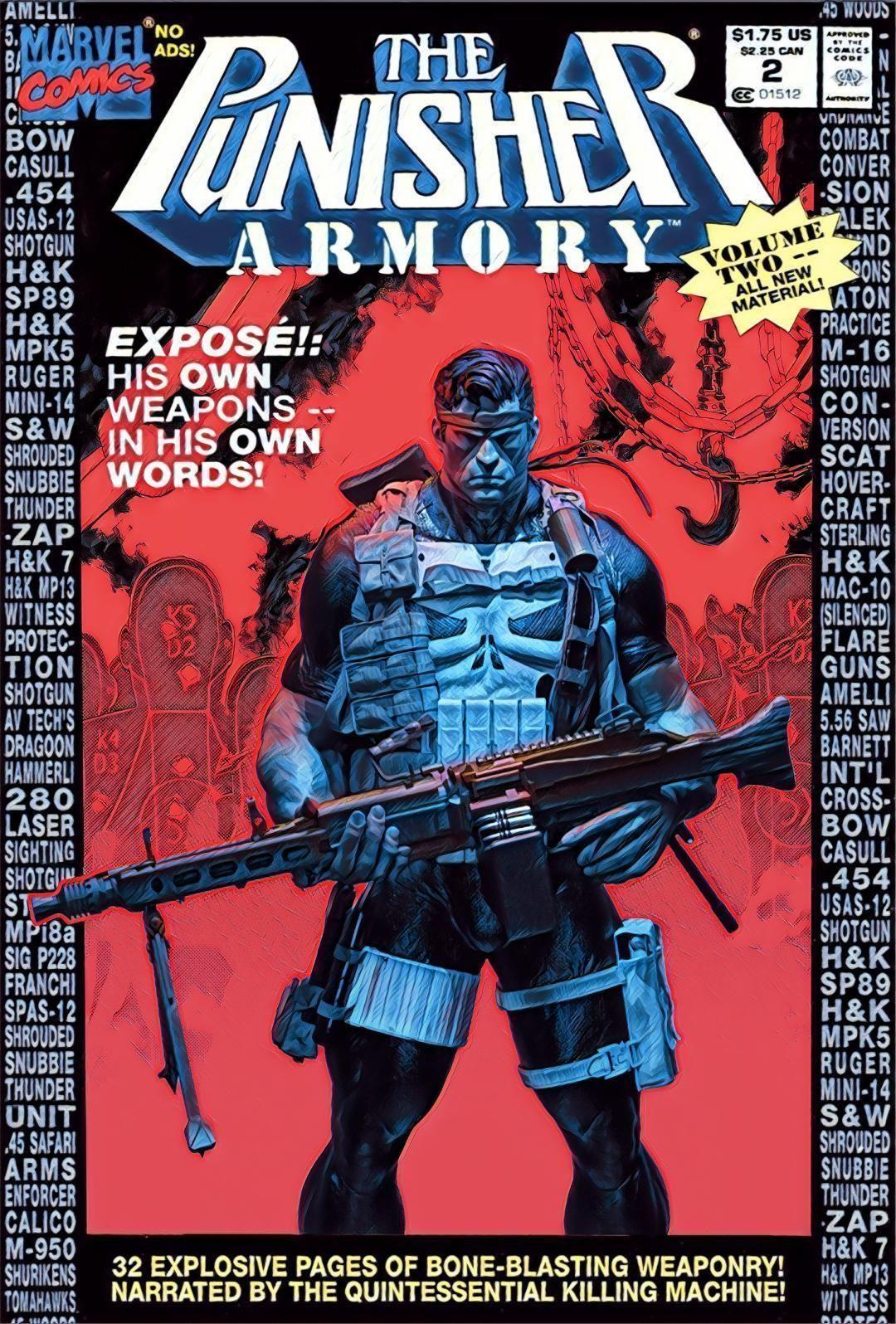 The Punisher Armory Fan Art Statue