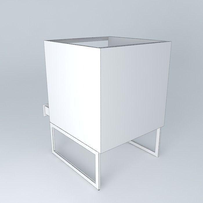 Kitchen Cabinet Models: Kitchen Cabinet Free 3D Model .max .obj .3ds .fbx .stl