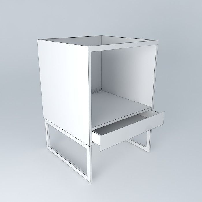 Kitchen Cabinet Free 3d Model Max Obj 3ds Fbx Stl Skp