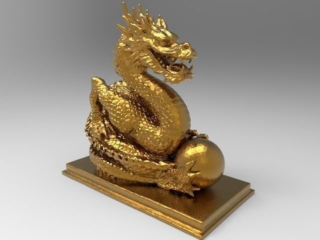Chinese dragon for 3d printing