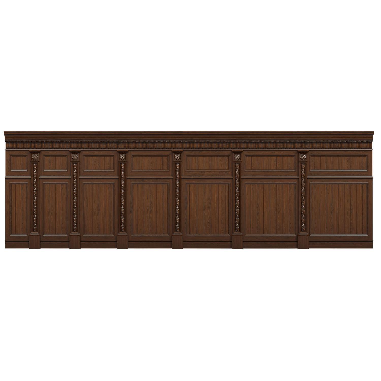 Threaded wood panels 015