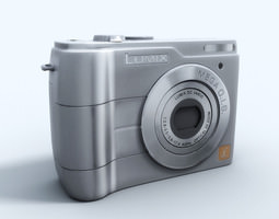 Panasonic dmc-ls1 3D Model