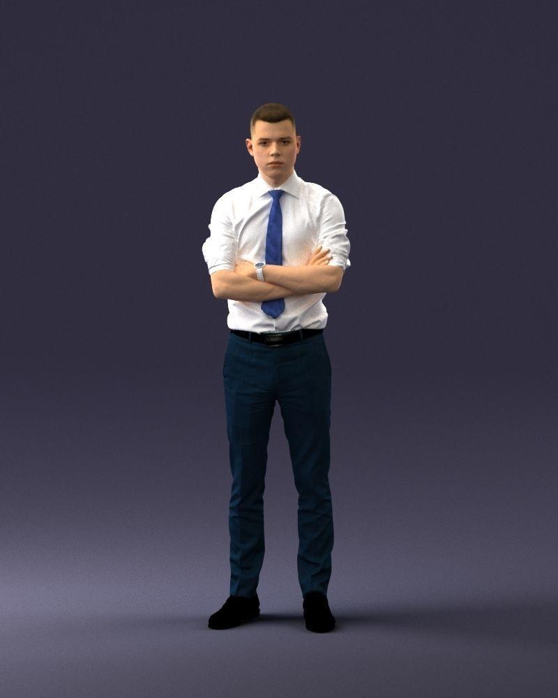 Office man 1012-4