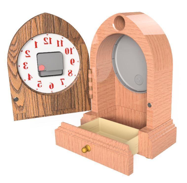 Drawer Clock - Design A1