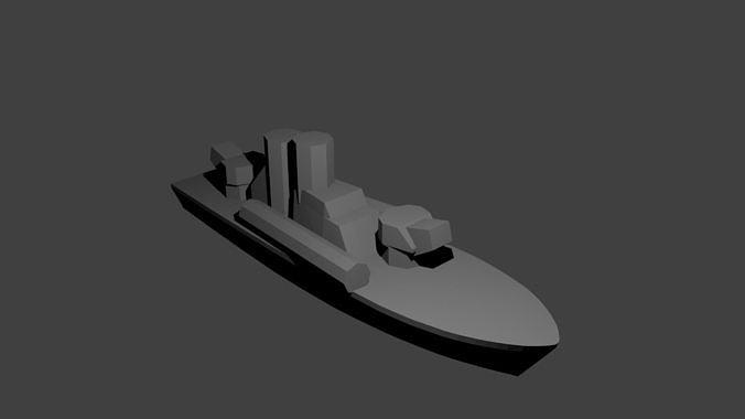 Soviet Komar Class Missile Boat