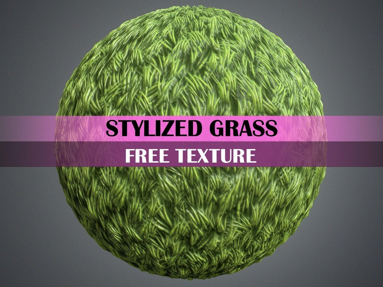 Stylized Grass Texture Free