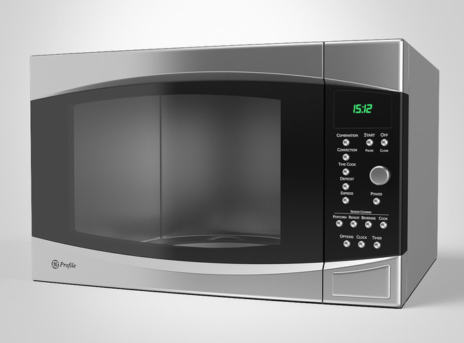 GE Microwave Oven3D model