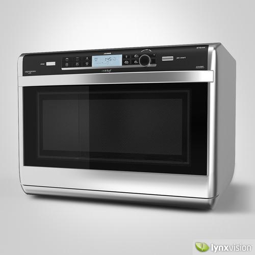 whirlpool jet chef oven 3d model max obj fbx. Black Bedroom Furniture Sets. Home Design Ideas