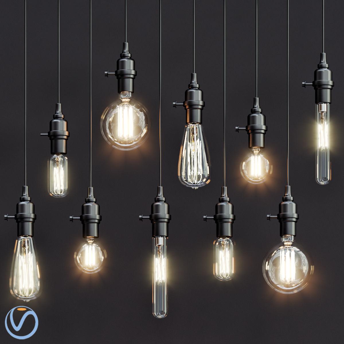 Vintage Style Pendant Lights Model