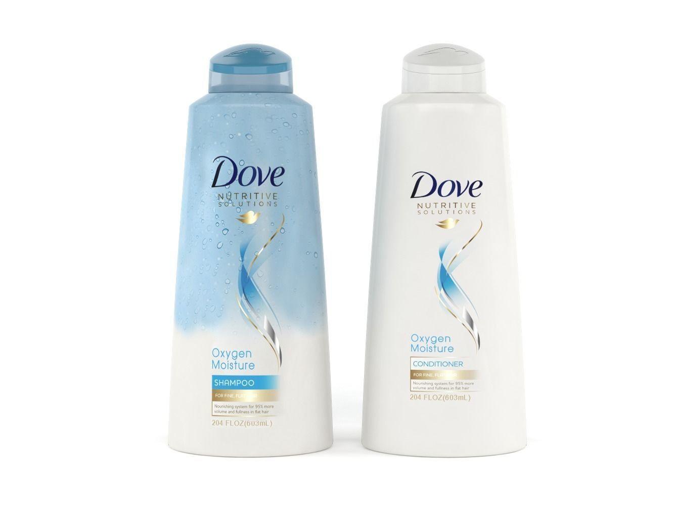Dove Nutritive Solutions Oxygen Moisture Shampoo Conditioner