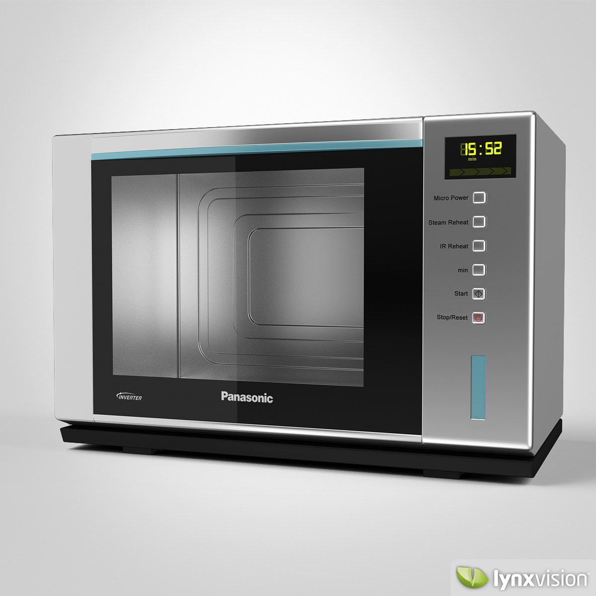 Panasonic Microwave Steam Oven Model Max Obj Fbx Mtl 1