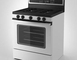 Whirlpool Gas Cooker 3D model