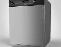 GE Dishwasher 3D
