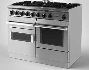 Falcon Freestanding Gas Range Cooker 3D