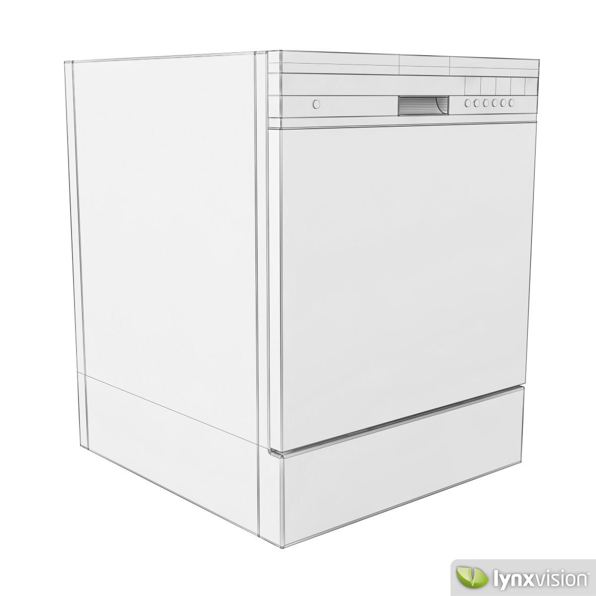 Electrolux Dishwasher 3d Model Max Obj Fbx Cgtrader Com