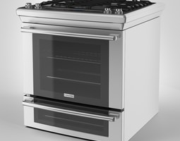3D model Electrolux Range Cooker