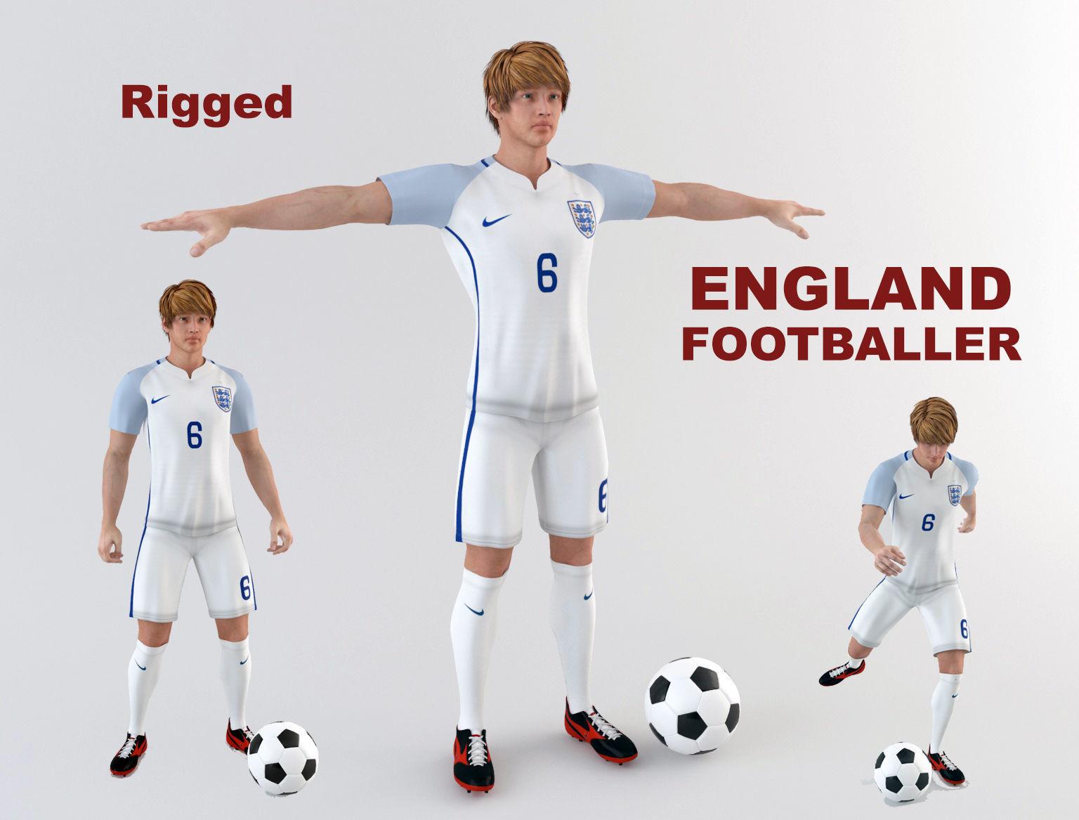 England footballer