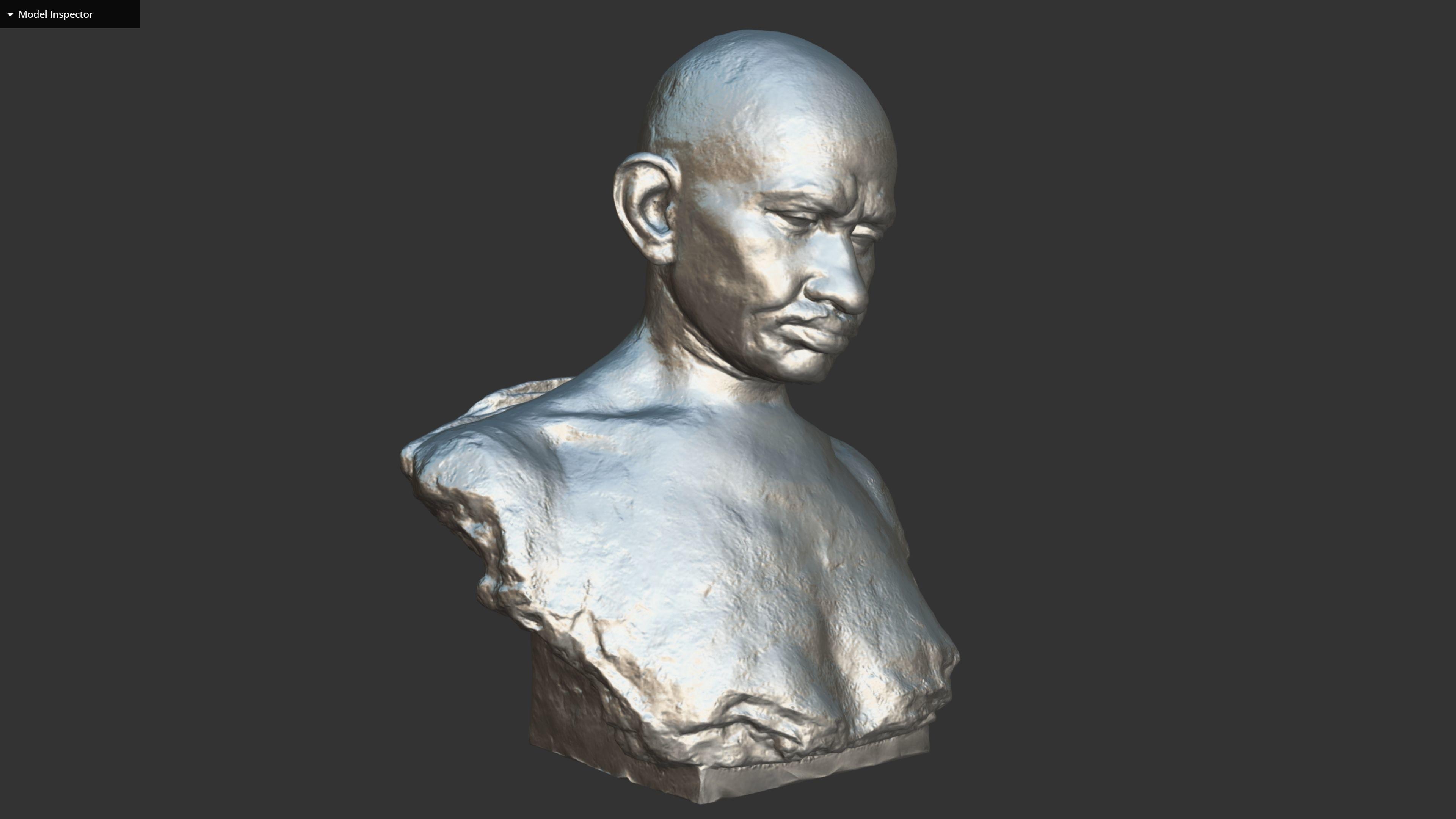 Gandhi by Karmarkar 3DP