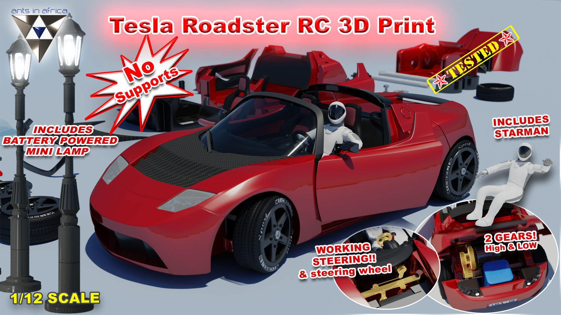 Tesla Roadster RC