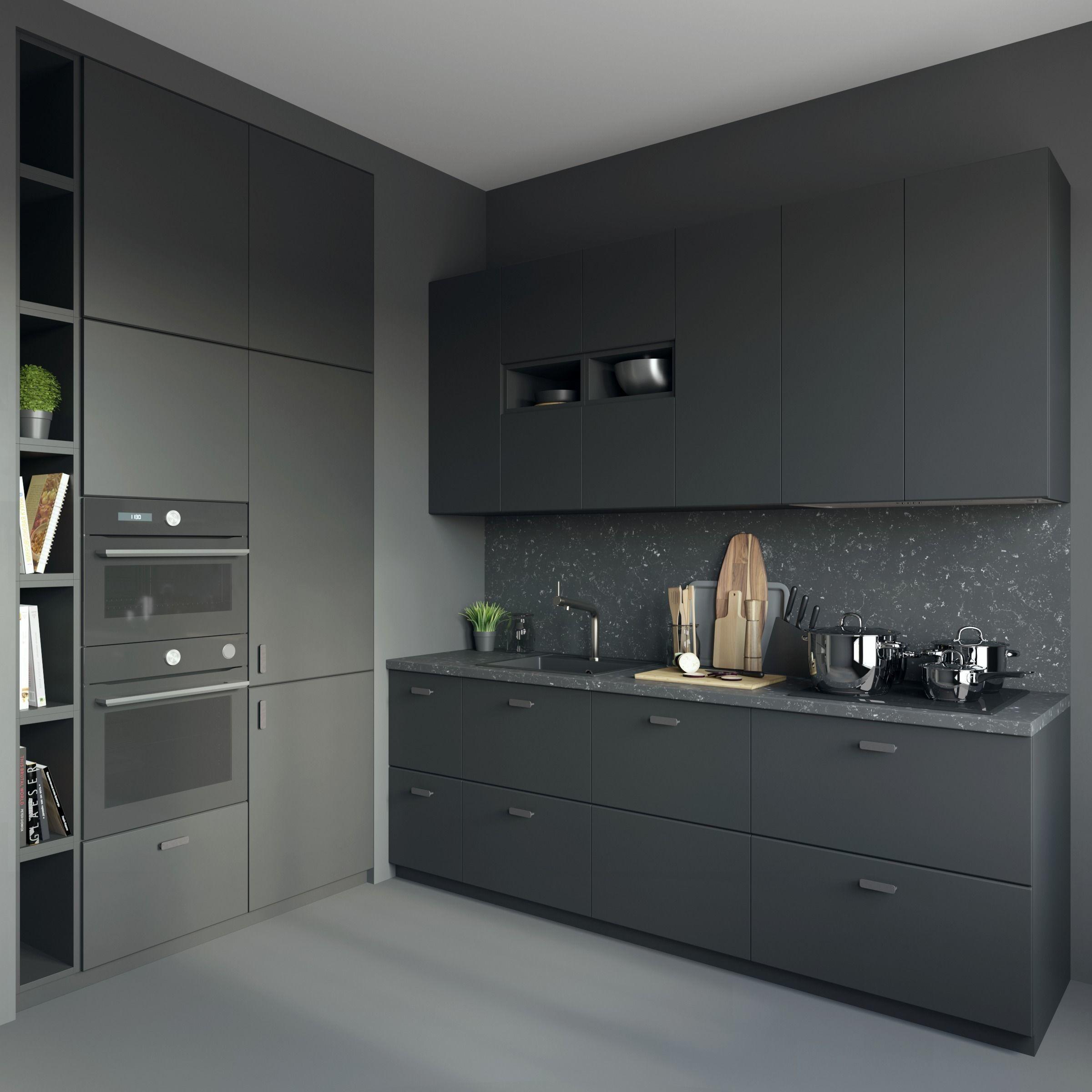 Kitchen ikea kungsbacka 3d model cgtrader - Ikea kitchen designer los angeles ...