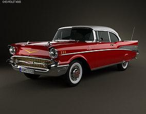 Chevrolet Bel Air Sport Coupe 1957 3D
