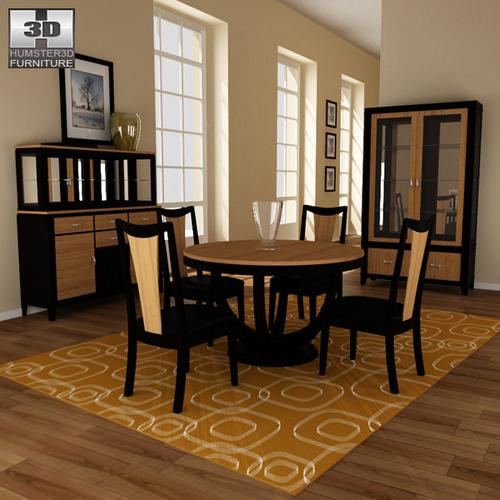Dining Room 03 Set3D model