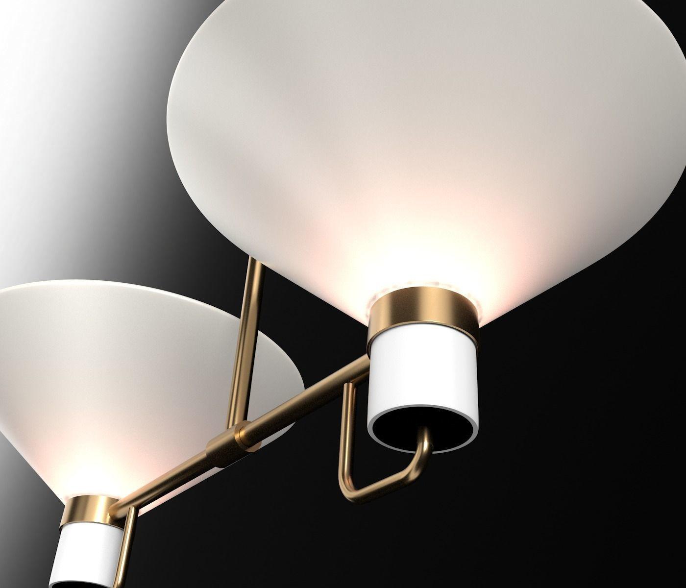 Lauriston 2 Light Up Pendant Model