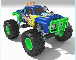 Monster Truck 518 3D Model