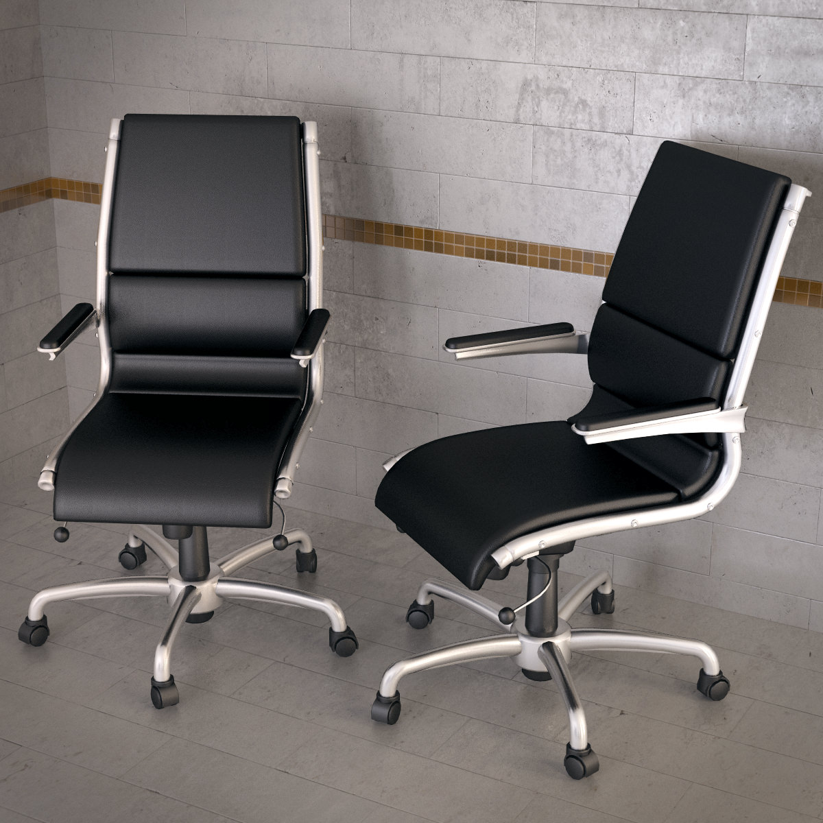 Topdeq artes sit it execute chair 3d model max obj 3ds for Topdeq design