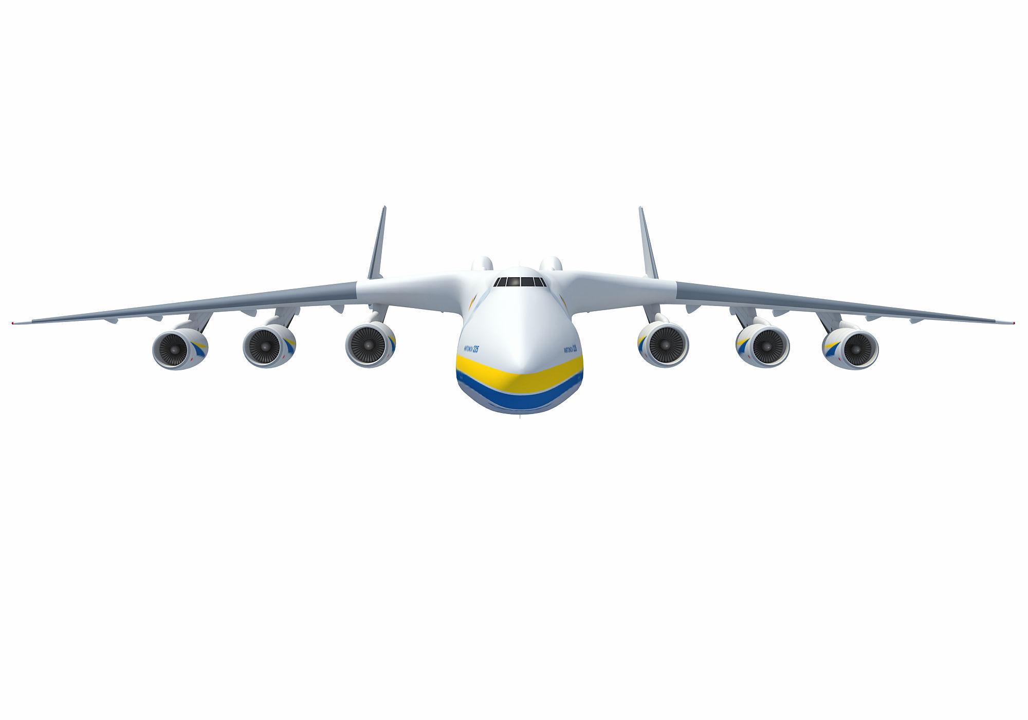 Antonov An-225 Mriya Aerial Scene
