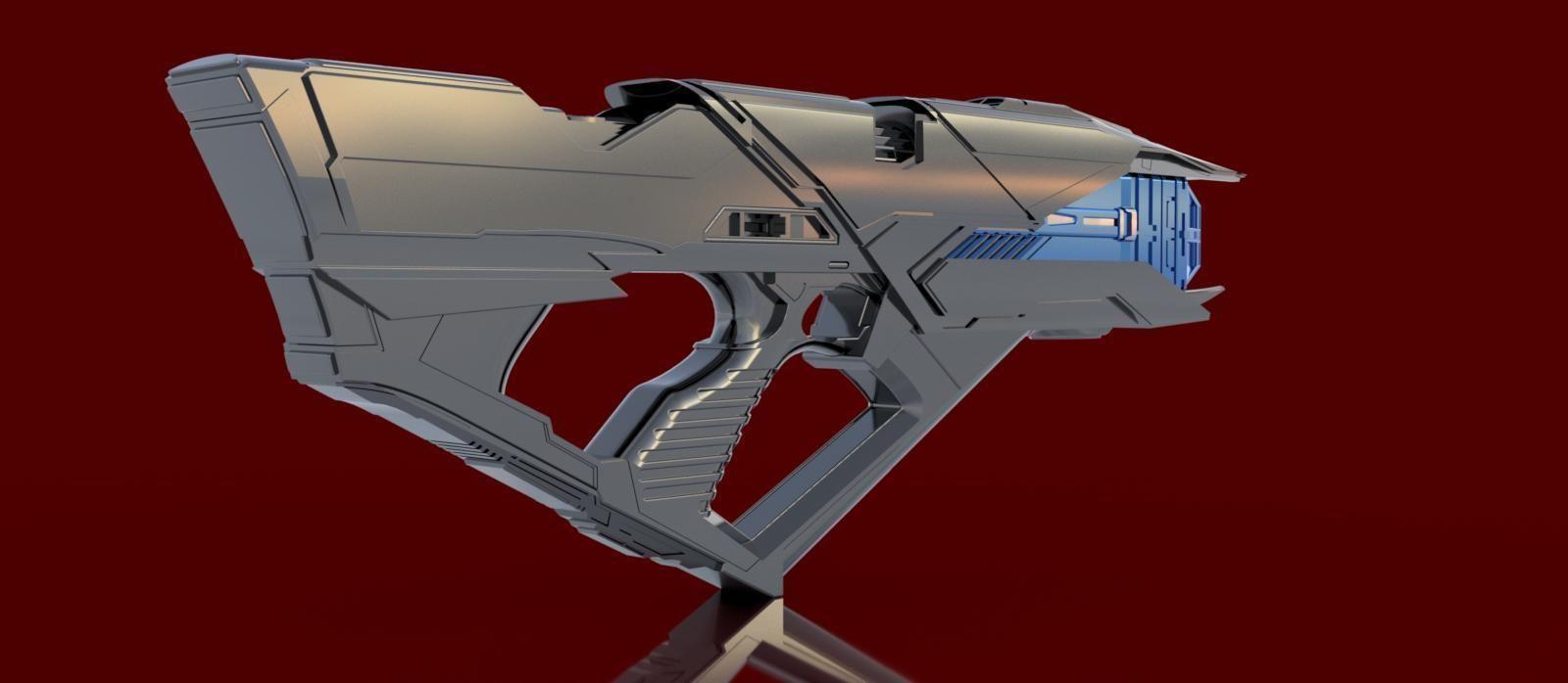 Star Trek Into Darkness Vengeance Phaser Rifle