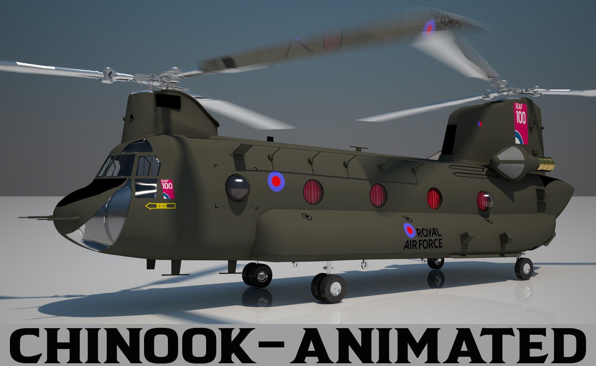 Royal Air force Chinook CH 47