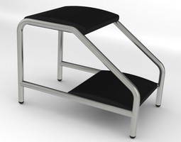 3d double step foot stool