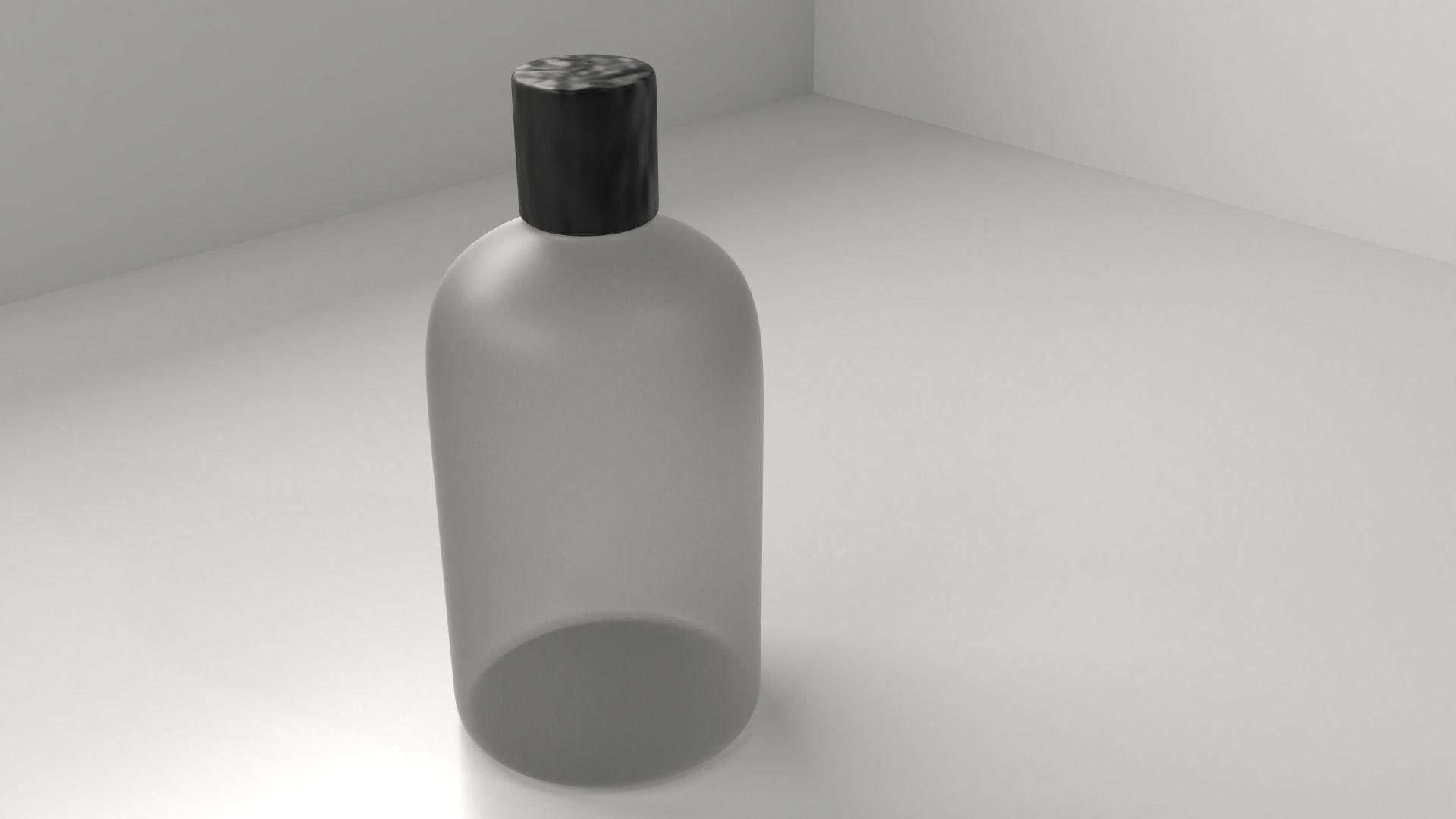 Plastic Bottle 10 - Shampoo Bottle