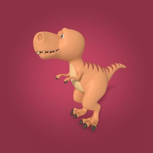 Cartoon Dinosaur - TRex