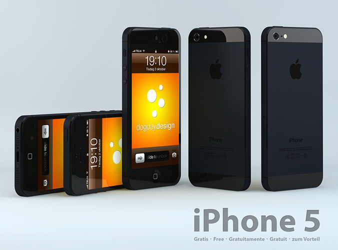 iphone 7 model iphone 5 3d model free free 3d model 3ds c4d 11540