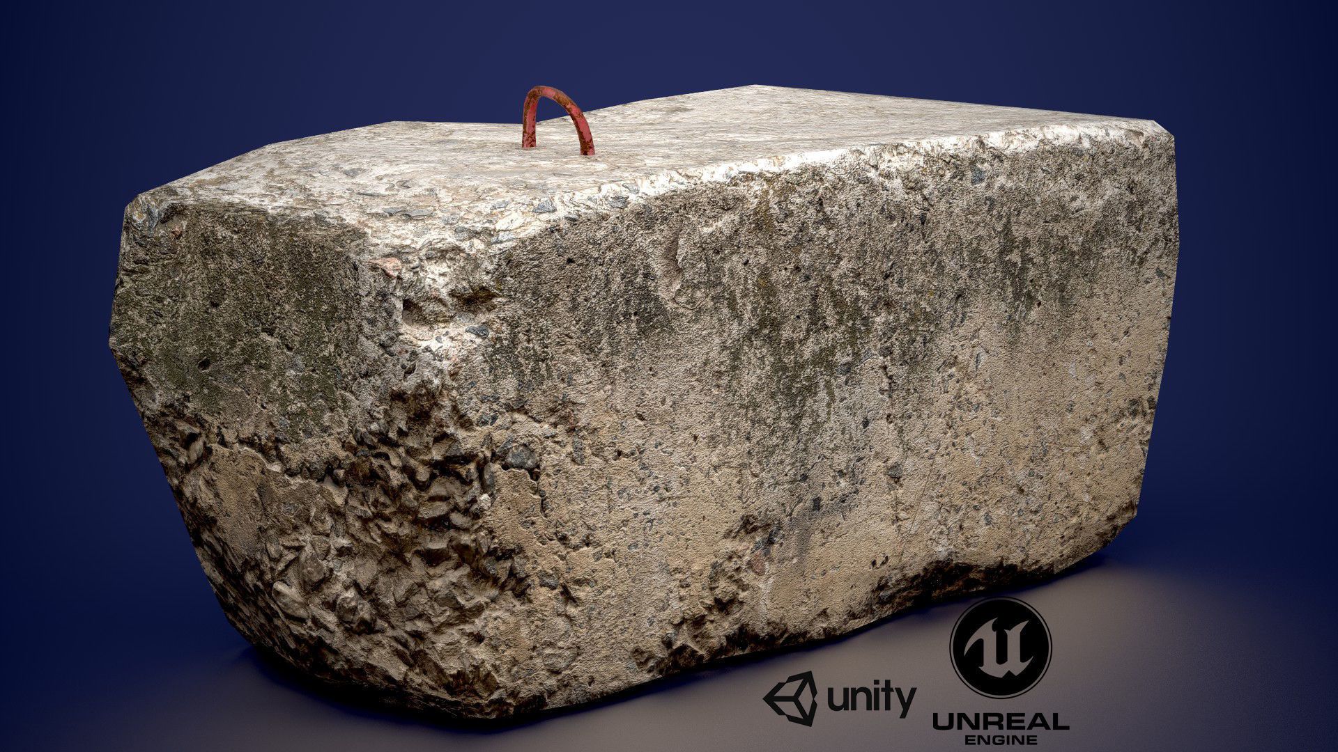 Concrete slab | 3D model