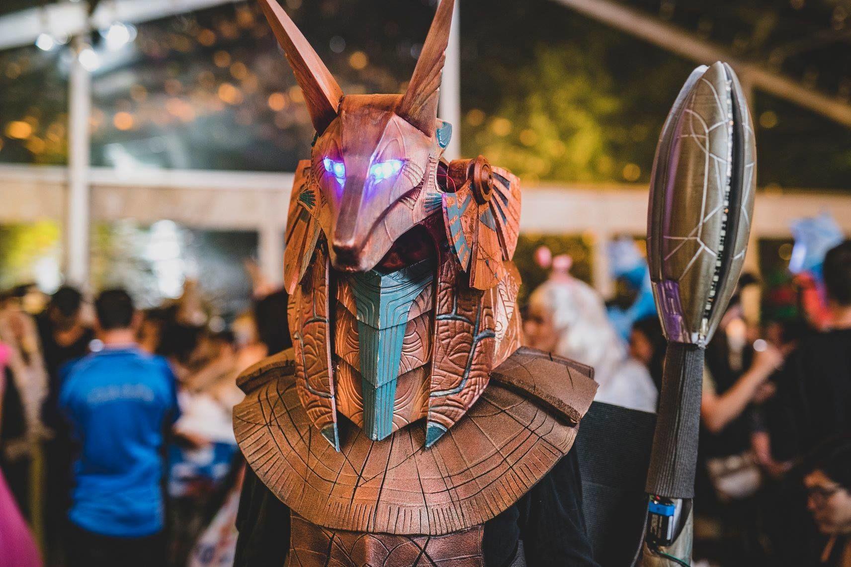 Stargate Anubis Cosplay Helmet
