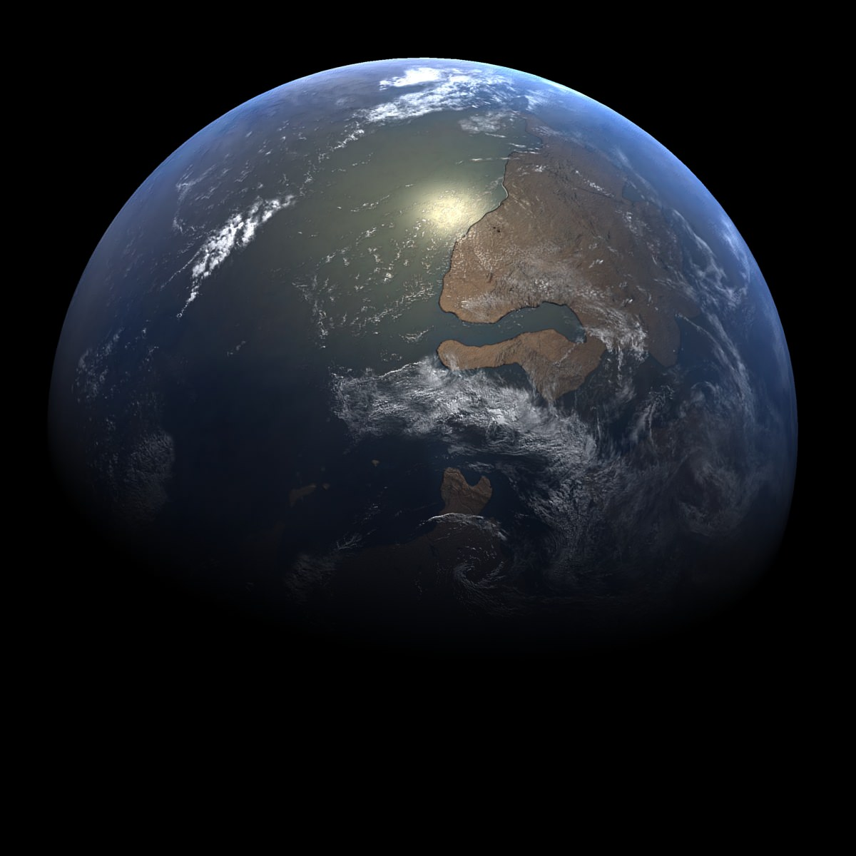 Early Cambrian Earth 2 Space Planet 3d Models Cgtrader Com