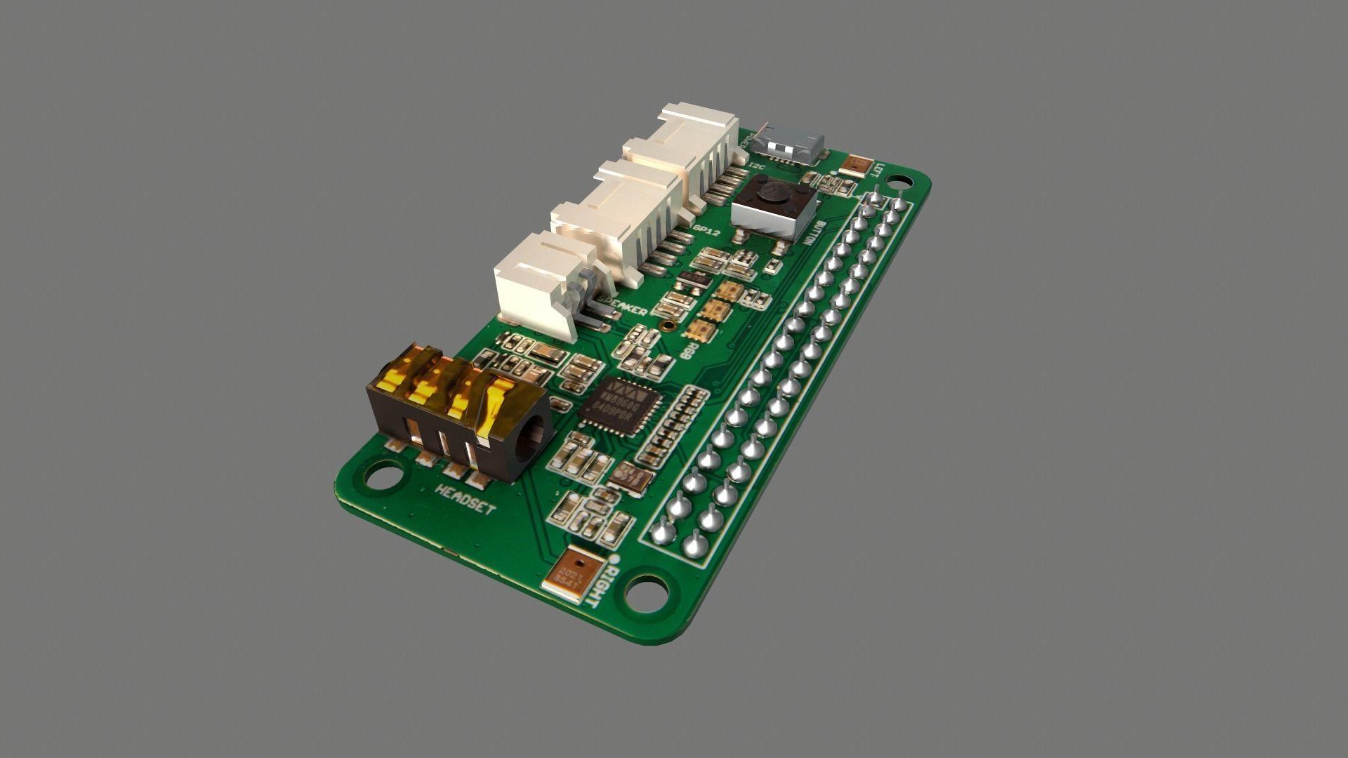 Respeaker Raspberry Pi Hat Circuit Board