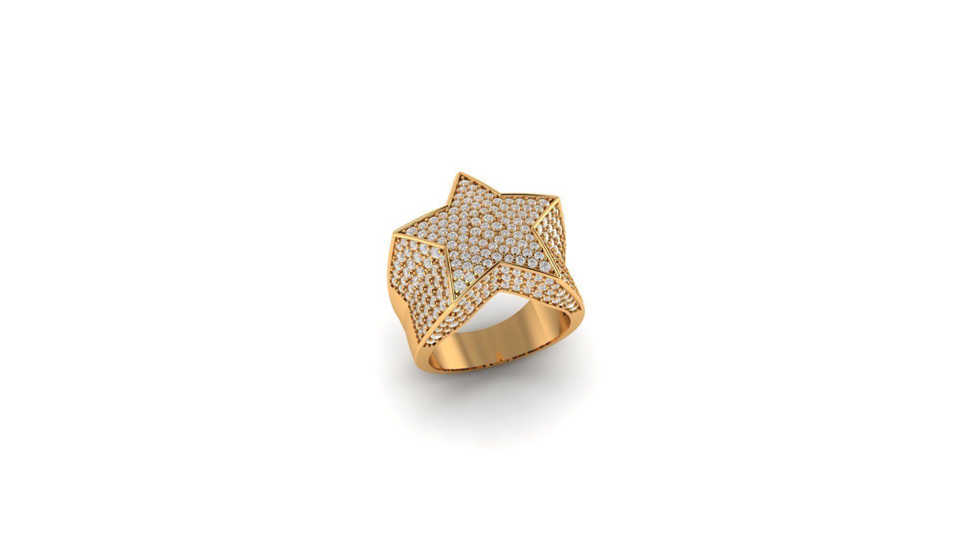 Star ring diamond v2