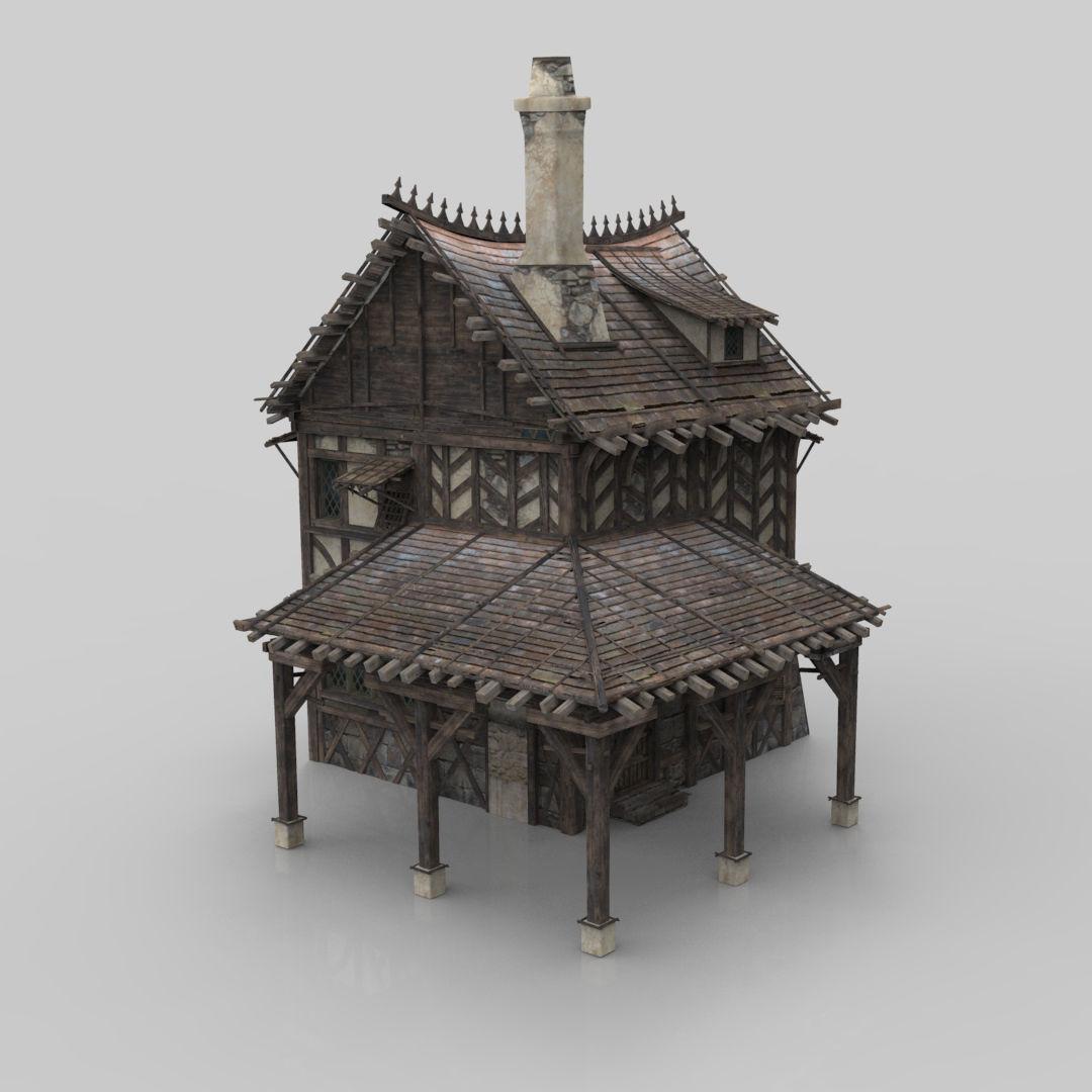 Medieval house fantasy 05