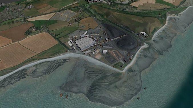 Gower Swansea Wales 3d | 3D model
