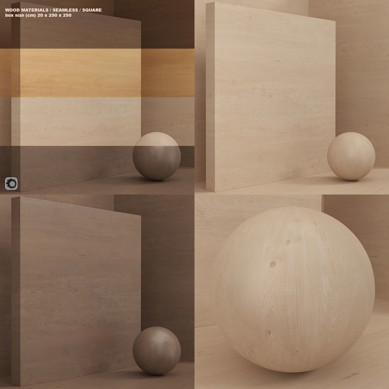 Wood material - veneer seamless