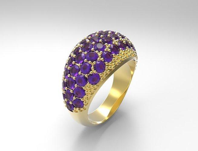 ring 07 3d model stl 3dm 1