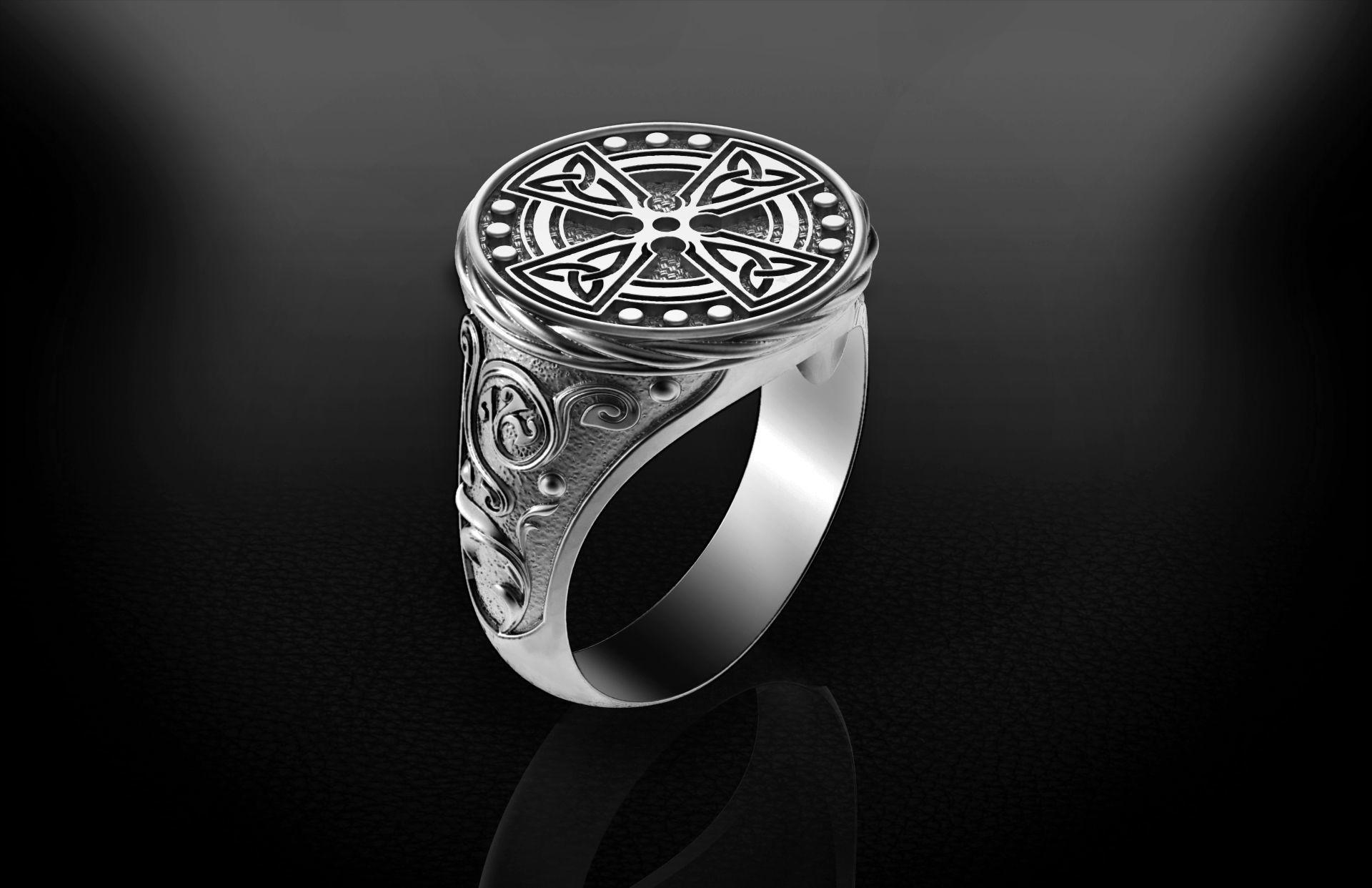 Men Celtic Ring 2 - 3D print model