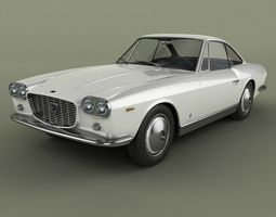 Lancia Flaminia 3C Coupe Speciale 3D