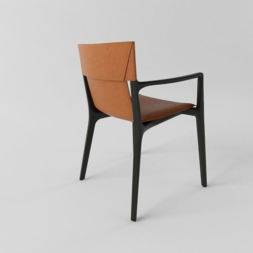 Poltrona Frau Isadora Chair   3D model