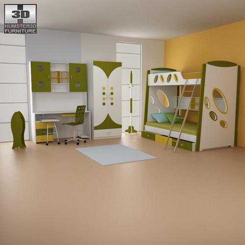 Nursery Room 07 Set3D model